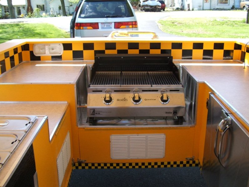 Customizable Plans - Build the Hot Dog Cart of Your Dreams!