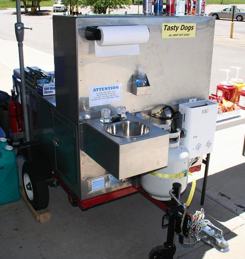 Build a Metal Hot Dog Cart