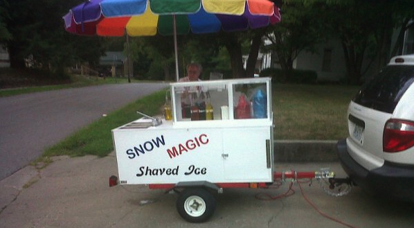 How to Build a Shaved Ice Cart