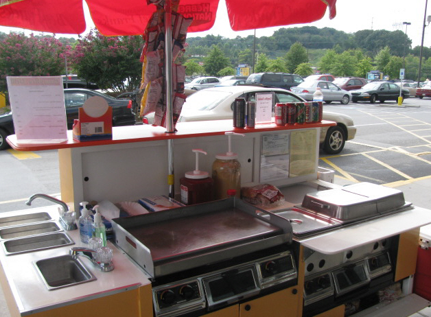 Side Serve Hot Dog Cart Plans