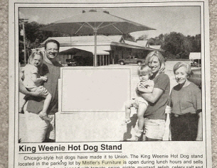 King Weenie Hot Dog Stand